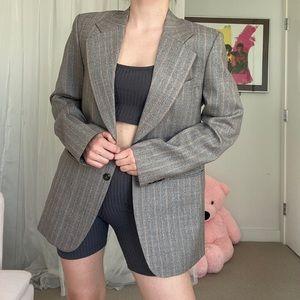 Vintage Spring Grey Blazer
